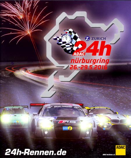 langstreckenrennen nürburgring 2016
